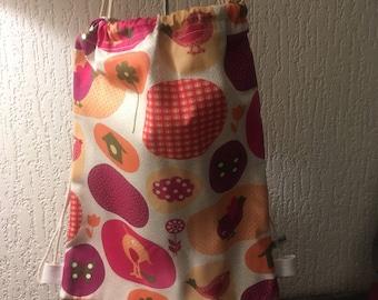 Lightweight canvas backpack