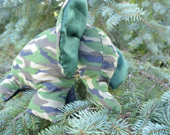 Camouflage Elephant plush