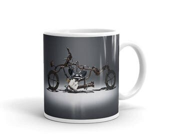 Bike Arts - Coffee and Tea Mug