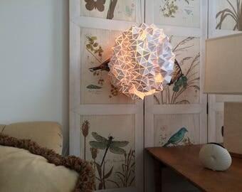 "Illuminated Sculpture ""Visions"" Series, Made to Order (40 cm Diameter sphere)"