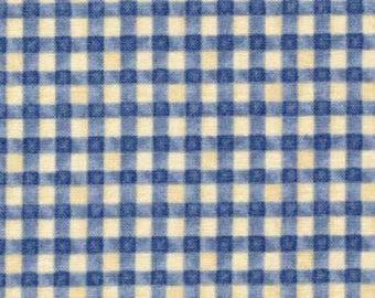 patchwork style blue and white dsn22189 gingham fabric