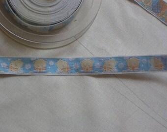 Blue taupe Ribbon