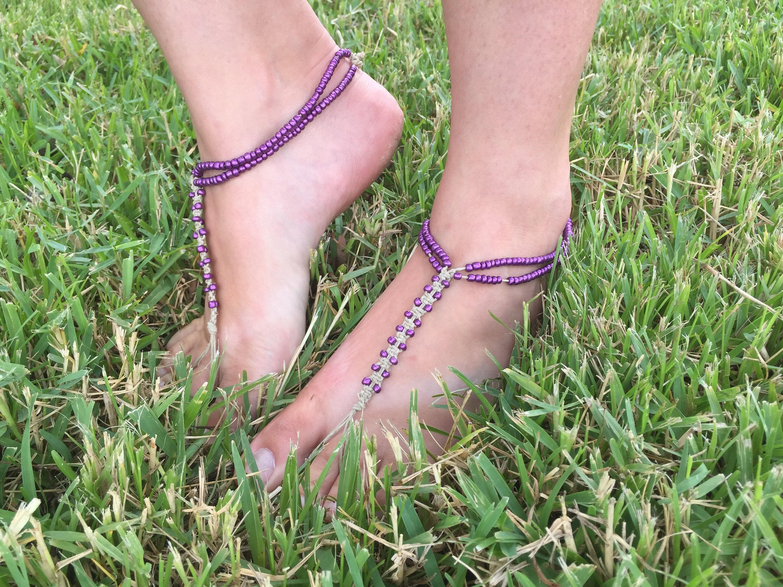Barefoot Sandals Macrame // Soleless