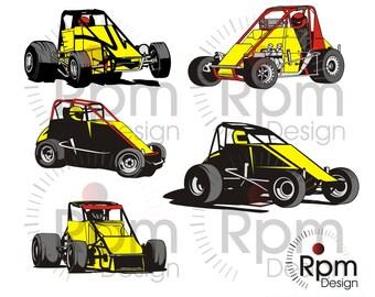 Race Car, Race Car SVG file, SVG File,Race Car eps,  Bundle, EPS file Cuttable, Dirt Track, Vector, Digital, High Quality Cricut, Silhouette