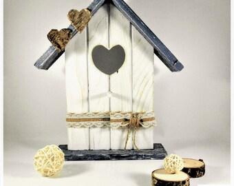 Reclaimed wood FIR cottage, decorating, big size