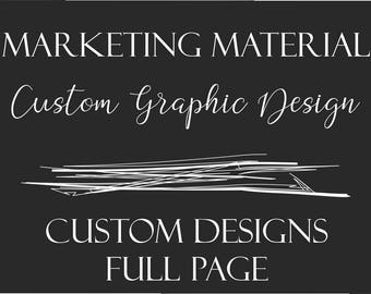 Custom Graphic Design - Full Page