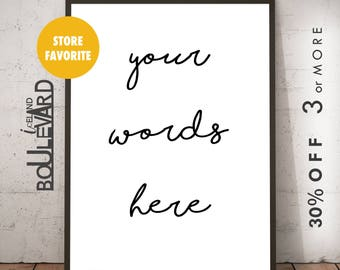 Wall Print, Wall Art Printable, Downloadable Art, XO Print, Typography Art, xo Art, Printable Art, xo Wall Art, Printable Typography