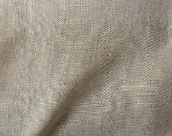fabric linen ecru weaving tight 2.2 m wide linen unwashed