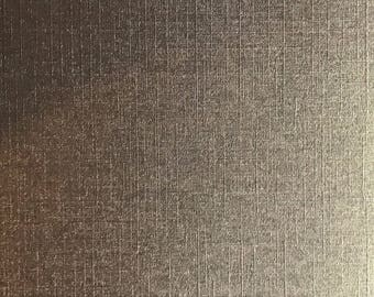 A5 thick paper deco textured effect woven Pearl scrapbooking - Brown