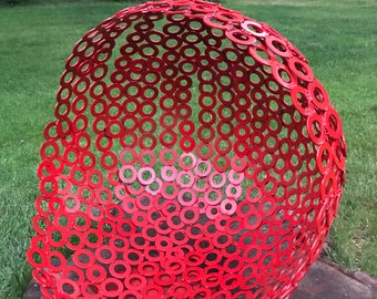 Red Large Sphere