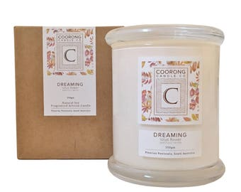 Dreaming Lotus Flower Soy Candle