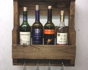 Wall Wine Rack - Medium