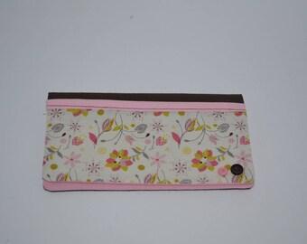 checkbook floral high heel