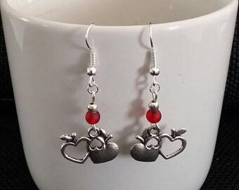 """Apple of love"" earrings 4 cm"