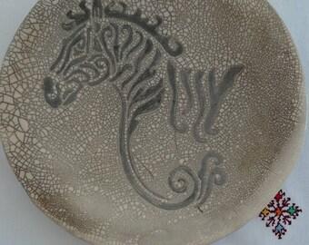 Handmade big serving dish