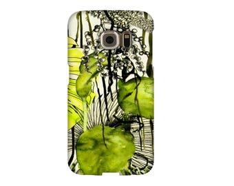 Large case Samsung S3, S4, S5, S6 S7, A3, A5, A7, J3 Note premium garden exo chic