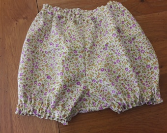 These bloomers with liberty print in 3 months.