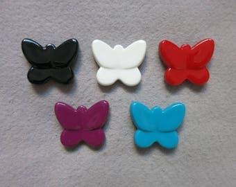 30 mm Butterfly bead