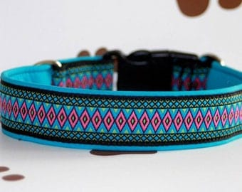 Dog collar Jacquard ribbon in unique style for Pet Jewellery
