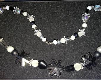 65. Snowflake Necklace