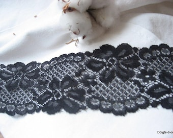 Black wide lace 6.3 CMS for your wedding decorations