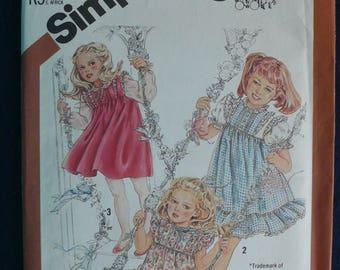 Vintage Simplicity Cinderella Pattern 5595 -Children's Size 5 (circa 1982)