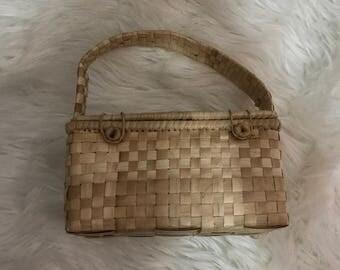 Woven Straw Basket/Bag