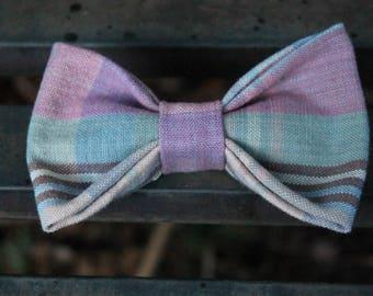 Pink Picnic | Pet Bow Tie