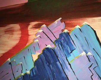 Mountains of Lapis