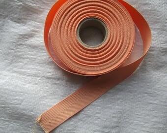 strap soft salmon cotton 2.5 cm