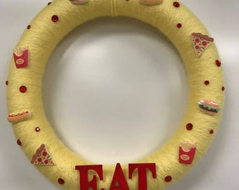 Eat!  Wreath