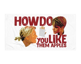 Good Will Hunting - How Do You Like Them Apples Towel