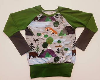 Baby Boy Sweater / Toddler / Kids / Baby Clothes / Kids Clothes / Toddler Clothes / Baby Sweater / Toddler Sweater / Grow-with-me Sweater