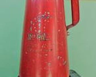 Upcycled Vintage Fire Extinguisher Lamp, Vintage Upcycled Lamp, Industrial Lamp, Vintage Fire Extinguisher Lamp