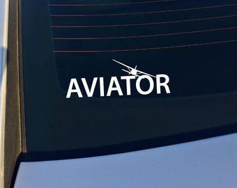 Aviator Cessna Vinyl Decal