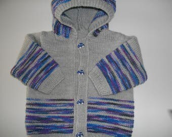 child's Cardigan with hood