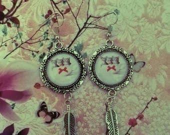 Animal theme earrings
