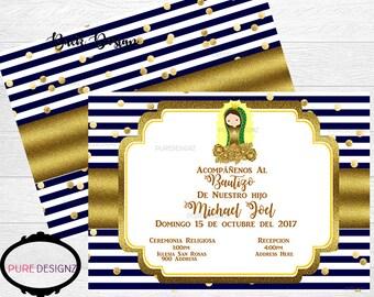 Mi Bautizo Invitation, Bautizo Invitation, Baptism Invitation, Christening Invitation, Bautizos Invitation,Invitaciones Bautizo