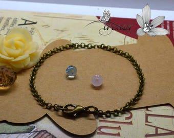 Bronze chains, Bracelet, 20mm, largeur3mm