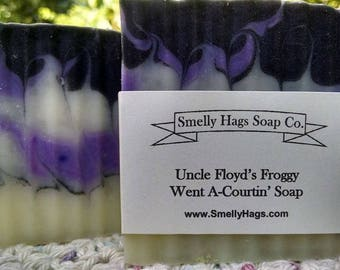 Uncle Floyd's Froggy  Went A-Courtin' Soap