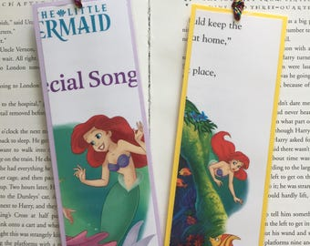 The Little Mermaid Disney Bookmarks