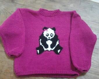 Kids sweater * Panda shebang *...