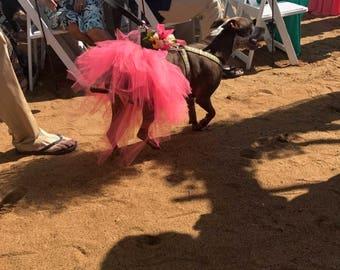 Wedding Tutu (medium dog/child size)