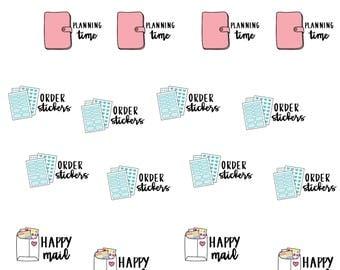 Planner Basics - Planner Stickers