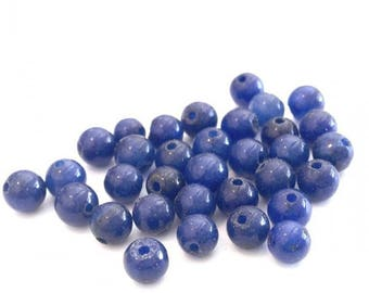 X 50 lapis lazuli ❤ ❤ 4mm stone beads