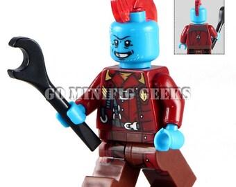 Custom Yondu Minifigure GOG Comics Fits Lego UK Seller