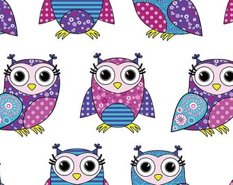 ORIGINAL design, durable and WASHABLE PLACEMAT - birds - cute little owls 1.