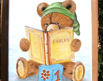 "Table ""little bear tells a story"""