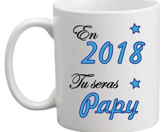 """""""In 2018 you're Grandpa"""" mug"""