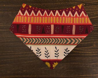 Indian Summer pet bandana
